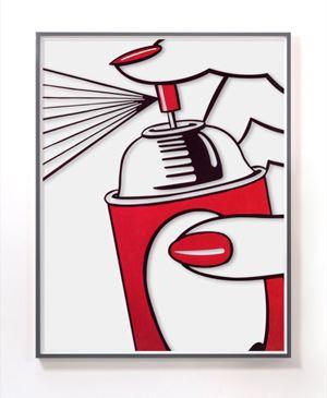 Untitled (Spray) by Jose Dávila contemporary artwork