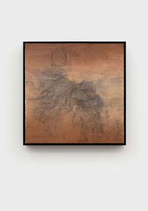 Cloud Veins, Red Sandstone 02 by Wang Shaoqiang contemporary artwork