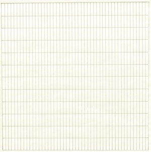 Untitled by Agnes Martin contemporary artwork