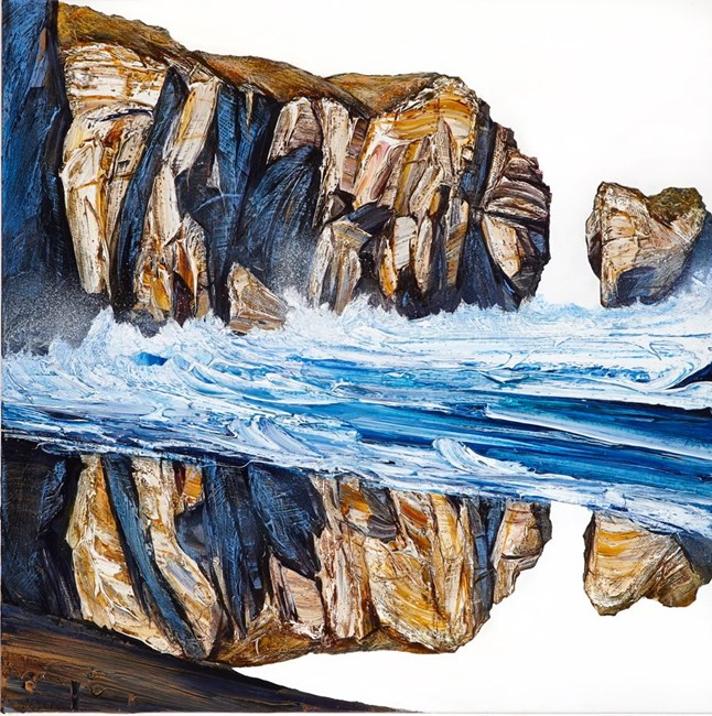 Rocky Bight by Neil Frazer contemporary artwork