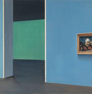 Trois Crânes sur un Tapis d'Orient by Tim Eitel contemporary artwork