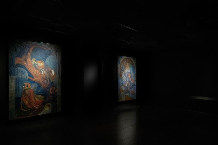 Exhibition view: Henry Shum, Vortices, Empty Gallery, Hong Kong (26 September–21 November 2020). Courtesy Empty Gallery.