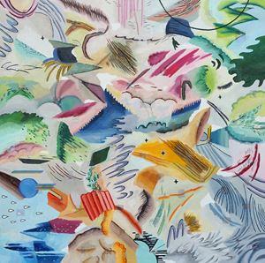무제_45 by Woo Tae Kyung contemporary artwork painting