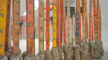 Contemporary art exhibition, Phyllida Barlow, Phyllida Barlow at Hauser & Wirth, London, United Kingdom