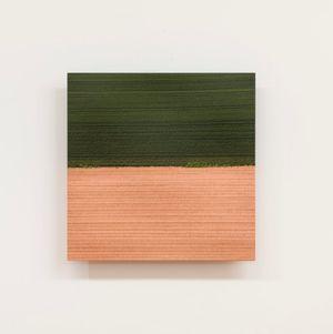 Field Study VII - After Barnett Newman by Elizabeth Thomson contemporary artwork sculpture