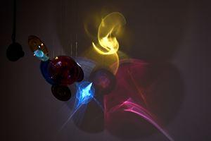 Living light by Shuster + Moseley contemporary artwork