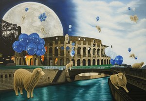 Antic and Utopia by Jung Sung One contemporary artwork