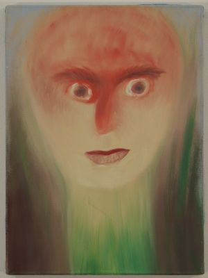 pflanzenmensch by Miriam Cahn contemporary artwork painting