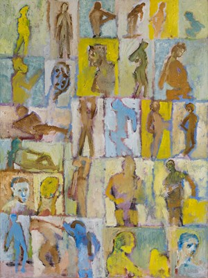 Bathers by Stephen Benwell contemporary artwork