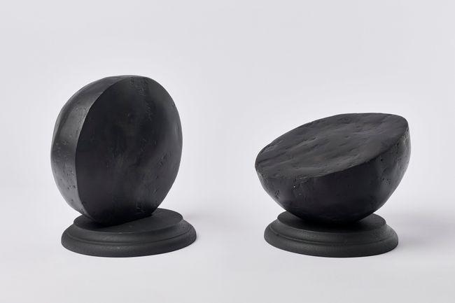 model for double consciousness (hemispheres) by Nolan Oswald Dennis contemporary artwork