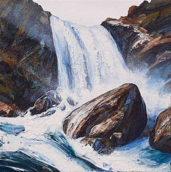 Falls VII by Neil Frazer contemporary artwork