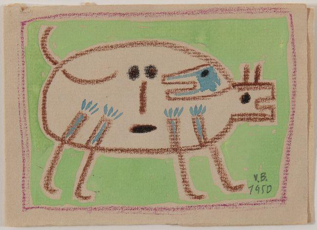Dog by Victor Brauner contemporary artwork