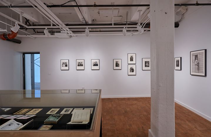 Exhibition view: August Sander, New Women, New Men, and New Identities, Hauser & Wirth, Los Angeles (13 February–19 July 2020). © Die Photographische Sammlung / SK Stiftung Kultur – August Sander Archive, Cologne / ARS, New York, 2020. Courtesy August Sander Family Collection and Hauser & Wirth. Photo: Mario de Lopez.