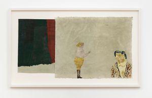 Föreställningen/The performance by Jockum Nordström contemporary artwork painting, works on paper, drawing
