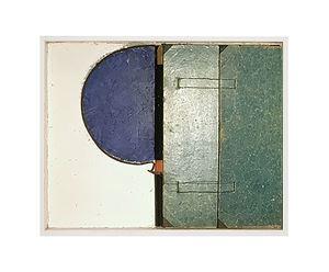 half cirkelvorming blauw by Camiel Van Breedam contemporary artwork
