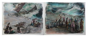 Beach 海滩 by Chen Nong contemporary artwork