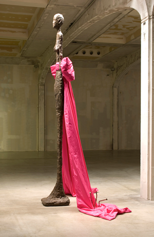 Giacometti Variations by John Baldessari contemporary artwork