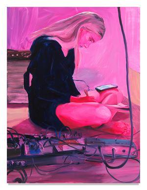 Set List Focus by JENNA GRIBBON contemporary artwork