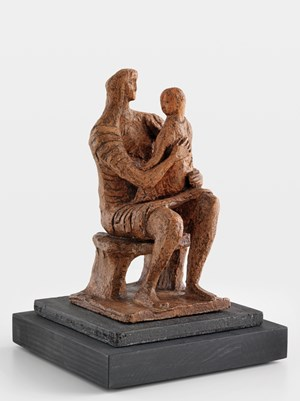 Madonna and Child by Henry Moore contemporary artwork sculpture