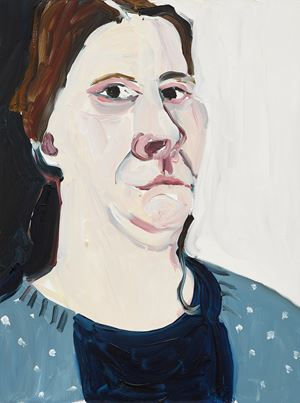 Self-Portrait, 1st January by Chantal Joffe contemporary artwork