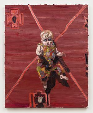 Tupelo #1 by Allison Schulnik contemporary artwork
