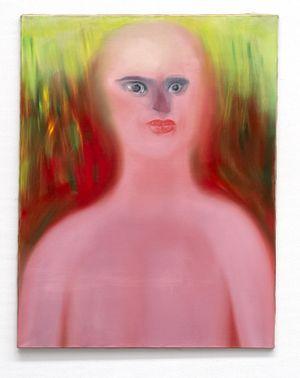 fremd by Miriam Cahn contemporary artwork painting