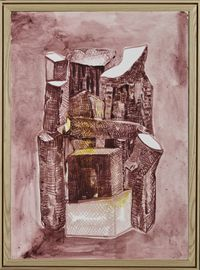 Crooked House N0.190105 错屋 N0.190105 by Chen Yujun contemporary artwork painting
