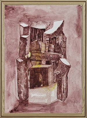 Crooked House N0.190105 错屋 N0.190105 by Chen Yujun contemporary artwork