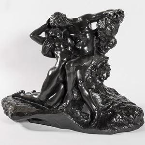 """Eternel printemps, Second état, 1ère réduction dite aussi """"réduction no.1"""" by Auguste Rodin contemporary artwork"""