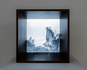 The Immemorial-The Cliff 3_10 by Yang Yongliang contemporary artwork