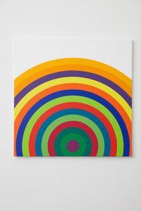 Partiel de: Serie 16 n° 9 by Julio Le Parc contemporary artwork painting