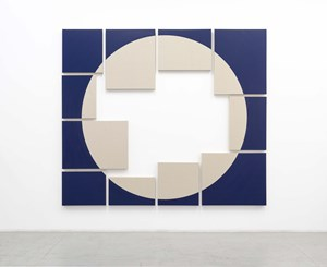 The most famous problem in the history of mathematics is that of squaring the circle IV by Jose Dávila contemporary artwork