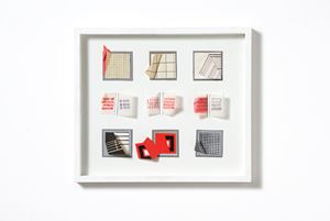 Studi per Extrapagine by Grazia Varisco contemporary artwork