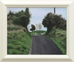 Near 8 Mile Junction by Dick Frizzell contemporary artwork