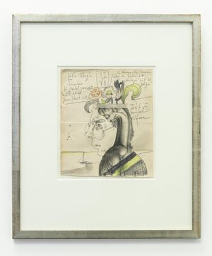 Kopf, Blumen, Landschaft by Horst Janssen contemporary artwork