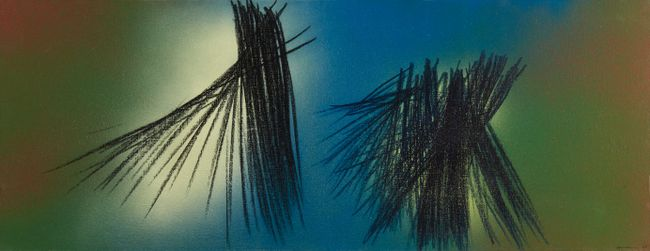 T1961-H31 by Hans Hartung contemporary artwork