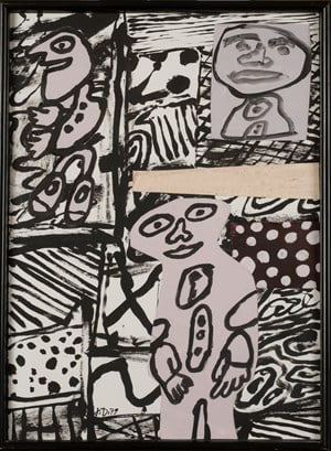 Séquence XVIII by Jean Dubuffet contemporary artwork