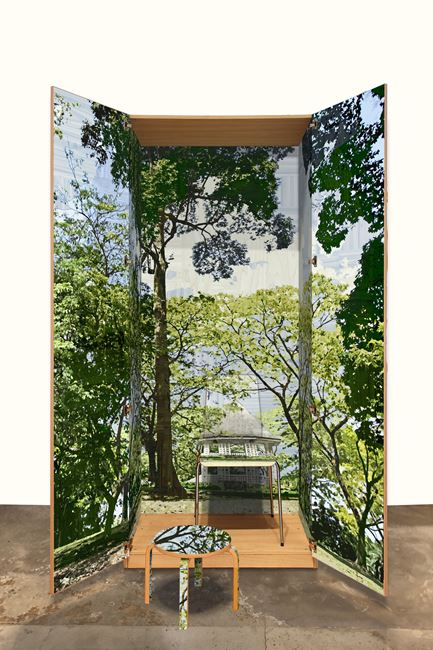 D.120 Botanical Gardens Singapore by Gary Carsley contemporary artwork