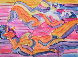 Social Distancing by Etsu Egami contemporary artwork