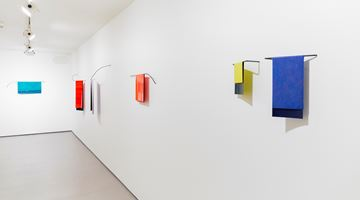 Contemporary art exhibition, Helen Calder, Space Line Colour at Bartley + Company Art, Wellington