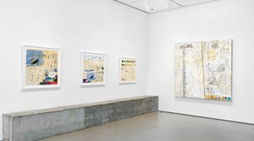 Contemporary art exhibition, Squeak Carnwath, Not All Black and White at Jane Lombard Gallery, New York