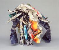 Splendid Actor by John Chamberlain contemporary artwork sculpture