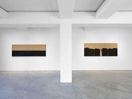 """Yun Hyong-keun<br><em>Yun Hyong-keun 1989–1999</em><br><span class=""""oc-gallery"""">PKM Gallery</span>"""