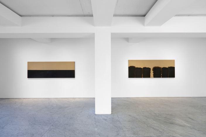 Exhibition view: Yun Hyong-keun, Yun Hyong-keun 1989-1999, PKM & PKM+, Seoul (23 April–20 June 2020). Courtesy PKM Gallery.