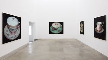 Contemporary art exhibition, Robert Russell, Teacups at Anat Ebgi, Culver City, Los Angeles