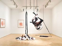 "Claire Barclay<br><em>Longing Lasting</em><br><span class=""oc-gallery"">Stephen Friedman Gallery</span>"