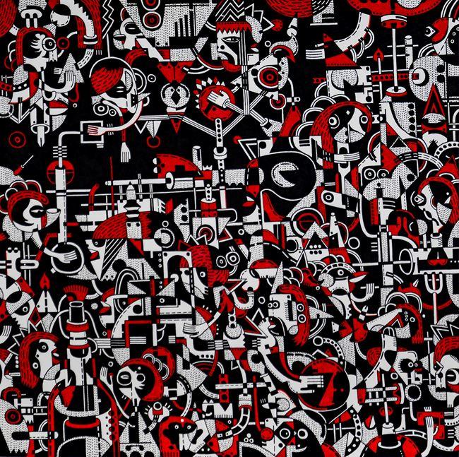 Alcheringa Variations III by Nisky Yu contemporary artwork