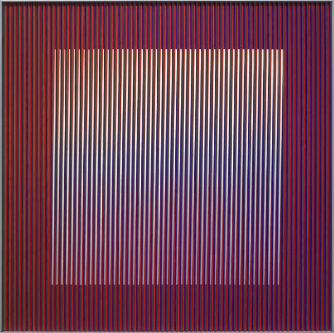 Physichromie 1151 by Carlos Cruz-Diez contemporary artwork