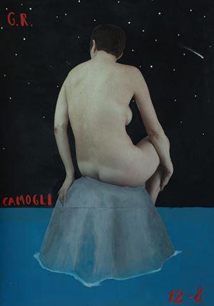 Camogli, Per Grazia Ricevuta by Paolo Ventura contemporary artwork