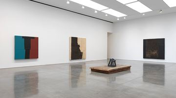 Contemporary art exhibition, Theaster Gates, Black Vessel at Gagosian, 555 West 24th Street, New York